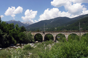 Ponte sul torrente Melezzo