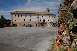 Il piazzale del Santuario S.Matteo