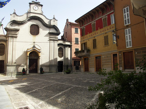 Una piazza tranquilla