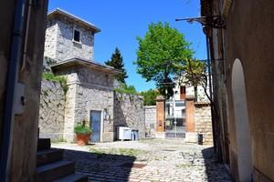 """"""" Girovagando con gli amici nel centro storico """" – Piazzetta Pavone – Trivento."""