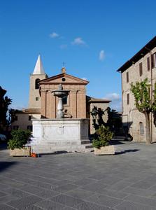 La piccola piazza Garibaldi