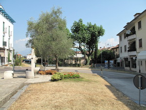 Piazza Alcide De Gasperi.