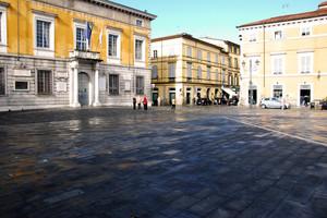 piazza bagnata