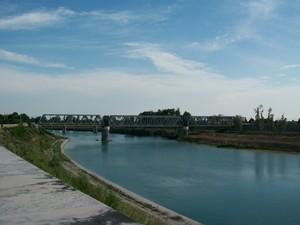 """Ponte ferroviario """"alzabile"""" sul Tagliamento – Latisana (UD)"""