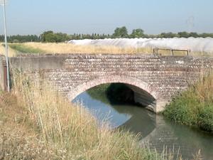 Ponte 3 sul canale raccoglitore