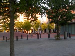 Rozzano, Piazza Michele Alboreto