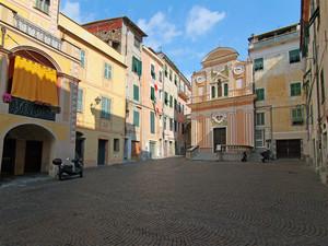 Piazza Garibaldi a Camporosso