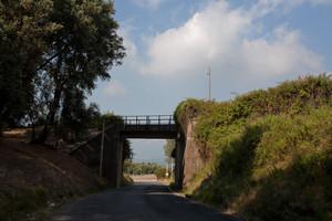 Il vecchio ponte delle ferrovie della Calabria