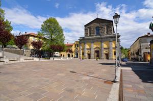Chiesa e piazza del mercato