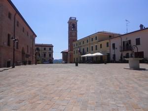 La piazza di Montiano