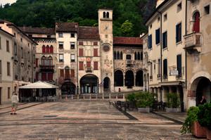 piazza Flaminio a Serravalle