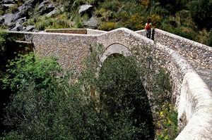Ponte del Diavolo sul fiume Raganello