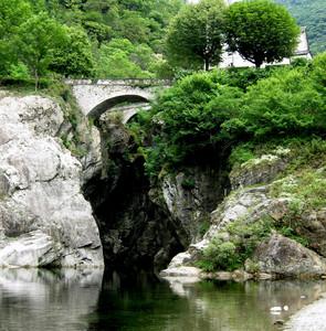 Due ponti a Traffiume orrido di S.Anna