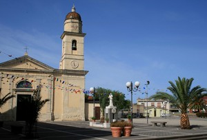 Davanti a san Sebastiano