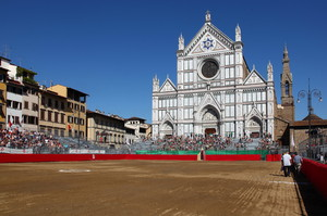 "Firenze Santa Croce "" FORZA ROSSI !!! """