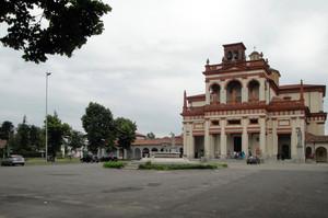 Madonna della Bozzola, santuario e piazzale