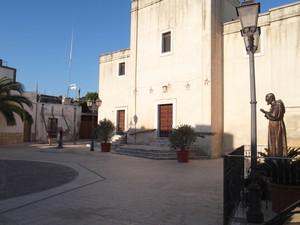 Piazza Trieste a Monacizzo