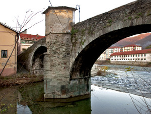 L'antico ponte di Rossiglione