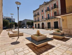 geometrie in Piazza Umberto I