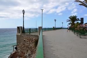 Largo Giulio Forzano: Vista sulle Isole Eolie
