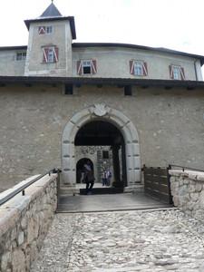 Ponte d'entrata a Castel Thun