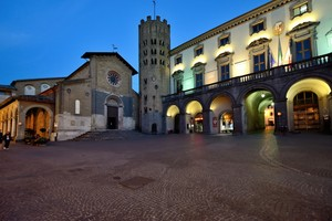 In piazza ad Orvieto