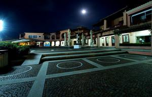 La piazzetta di Puntaldia