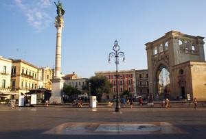 Pomeriggio in Piazza Sant'Oronzo