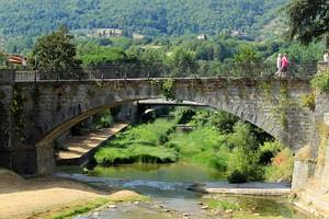un ponte di Dicomano