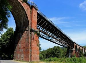 Ponte ferroviario sul Lamone