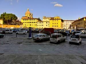 Piazza del Carmine…non si vede ..ma c'è