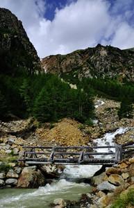 Peio, sul sentiero per il rifugio Larcher