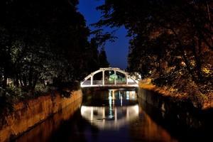 ''Liberty Bridge di notte Legnano'' - Legnano