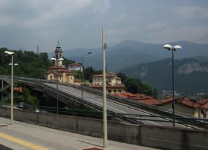 Il ponte del viadotto