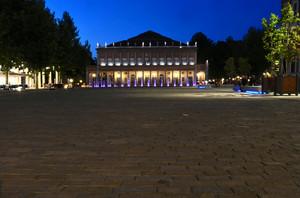 La piazza del teatro