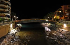 Ponte pedonale sul San Lorenzo