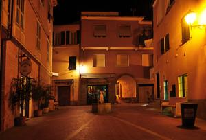 Piazza Mazzini by night