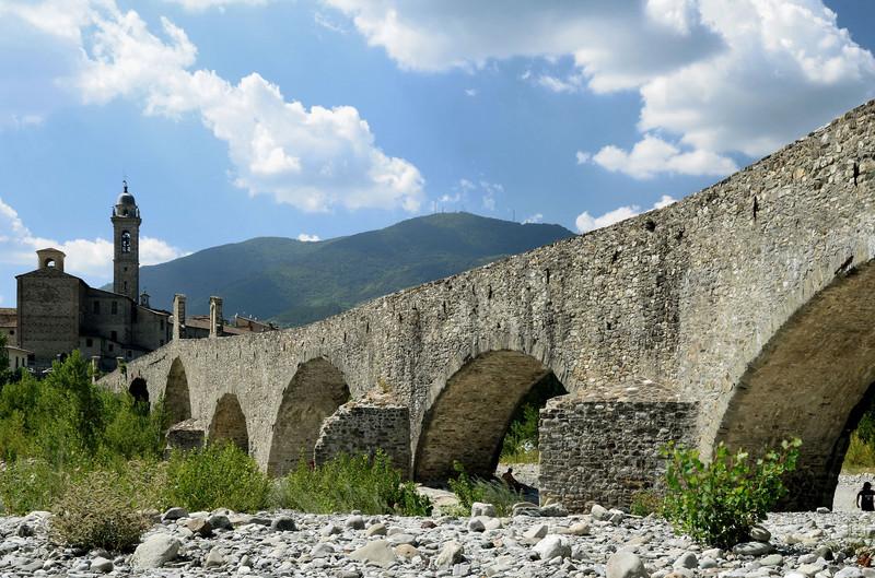 ''Il ponte gobbo'' - Bobbio