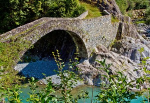 Ceres, il ponte del 1740