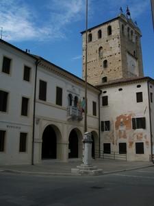 Piazza Maggiore ( P.zza Vittorio Emanuele II)-Portobuffolè (TV)