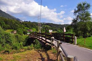 Un  ponticello in Valsassina