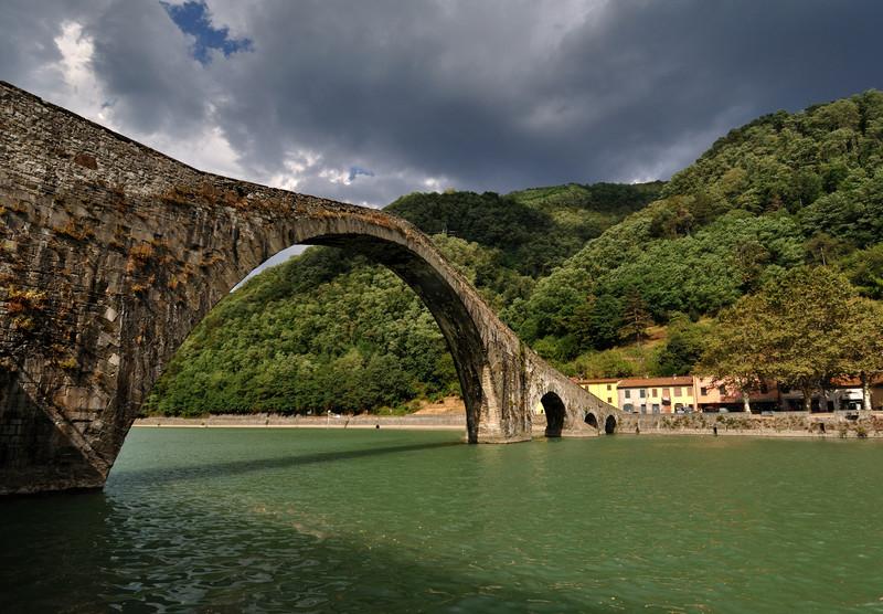 ''Ponte della Maddalena'' - Borgo a Mozzano