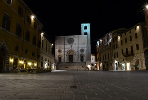 Piazza del Popolo – in the night