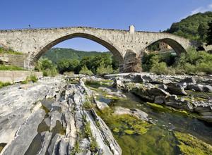 Il ponte medioevale di Ronco Scrivia