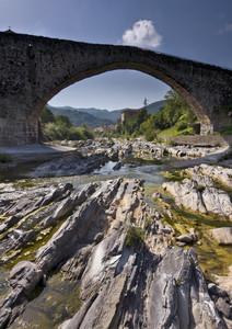 Controluce dell'antico ponte