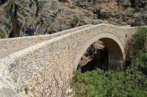 Civita: il ponte del diavolo