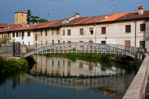 Ponte girevole sulla Martesana a Gorgonzola