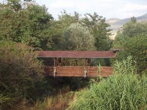 Ponte pedonale sul torrente Chiasco