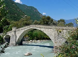 Il ponte di Echallod