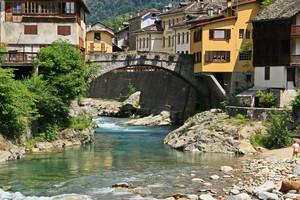 Il ponte per l'Argnaccia